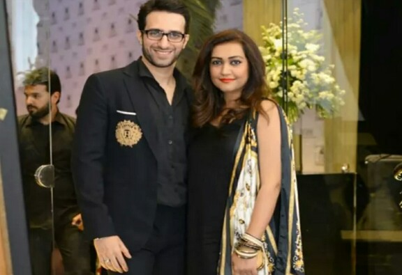 Emmad Irfani With His Wife Maryam
