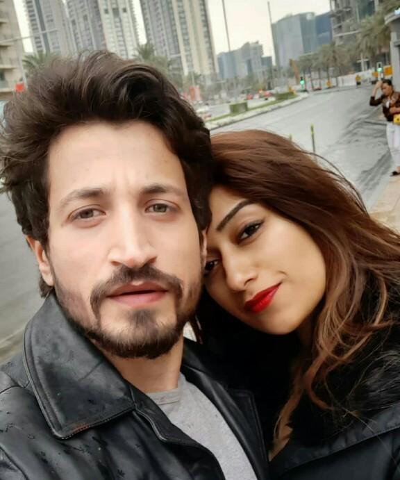 Salman Faisal And Neha's Honeymoon Pictures
