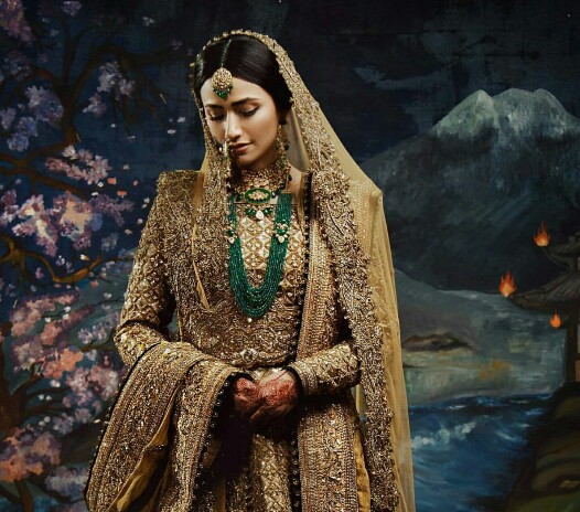 Sana Javed's Latest Bridal Campaign