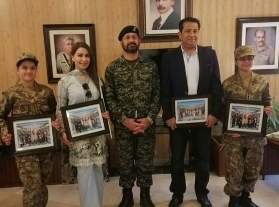 Reema Khan Visits Wagah Border