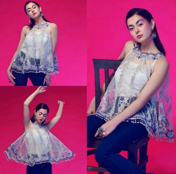 Hania Amir's Latest Photo Shoot Is Edgy And Colourful