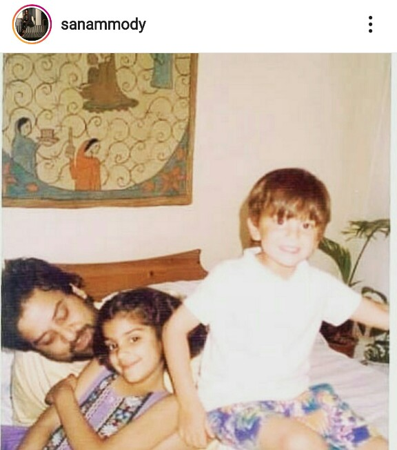 Sanam Saeed Wishes A Throwback Birthday To Her Father