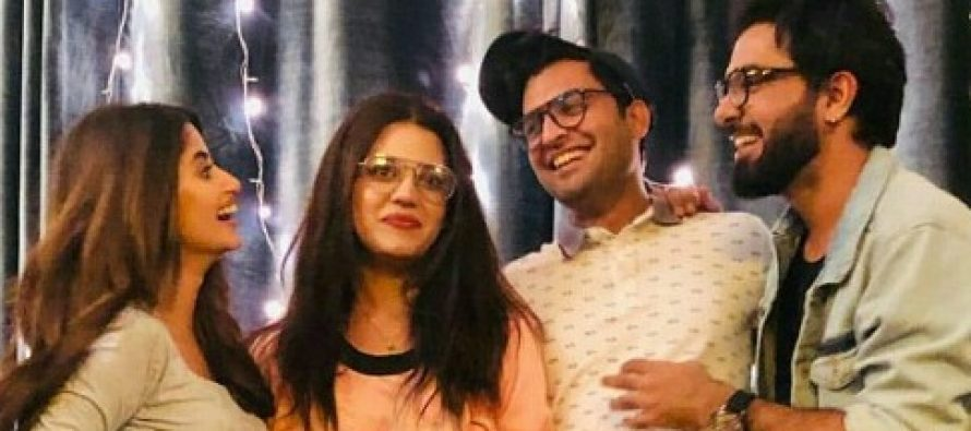 Zara Noor Abbas Celebrates Birthday With Family And Friends