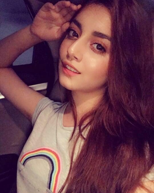 Latest Clicks of Beautiful Young Actress Alizay Shah