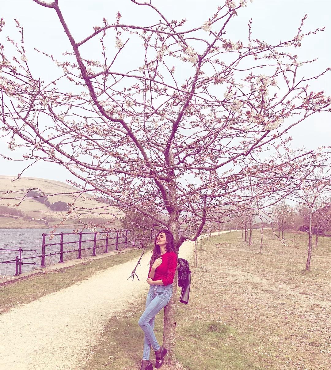 Latest Clicks of Beautiful Actress Sadia Khan in United Kingdom