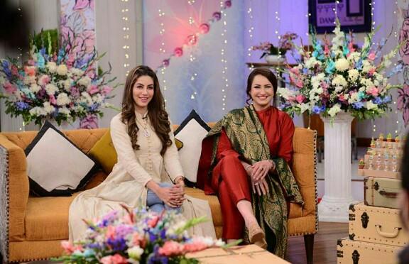 Saba Faisal's Family In Good Morning Pakistan