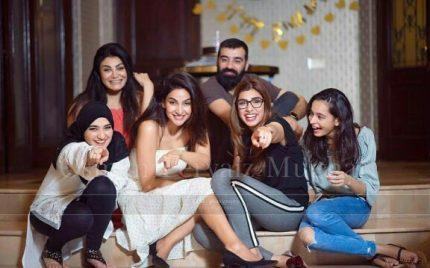 Saba Qamar Celebrated Birthday With Her Friends