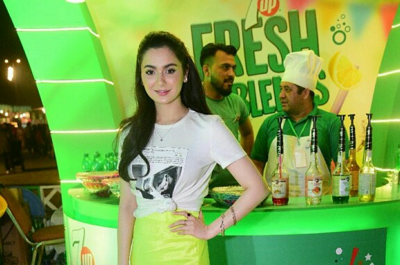 Celebrities At The 7Up Food Festival