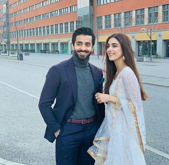 Shehryar Munawar And Maya Ali In Sweden