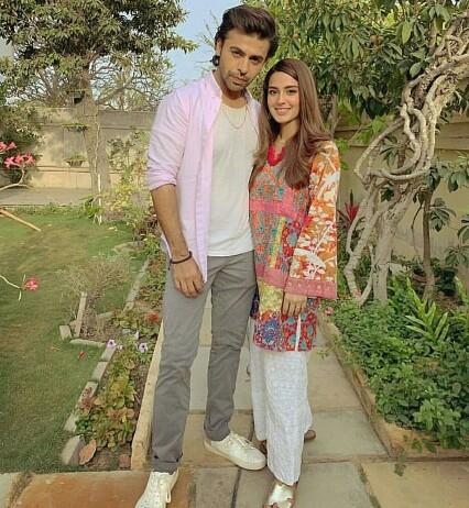 Arsal And Jiya Are Back On Sets