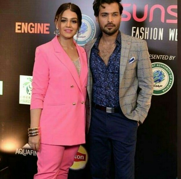 Zara Noor Abbas And Asad Siddiqui Walked The Ramp