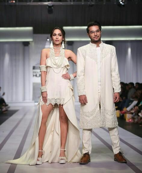 Faryal Mehmood And Asim Azhar Walk For Rizwan Beyg