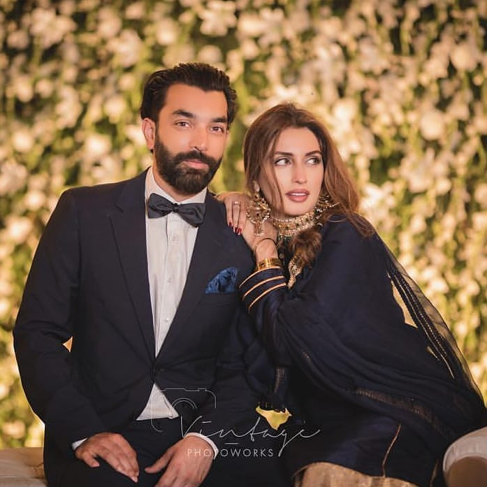 Rahma Ali And Sibtain Khalid's New Exclusive Wedding Pictures