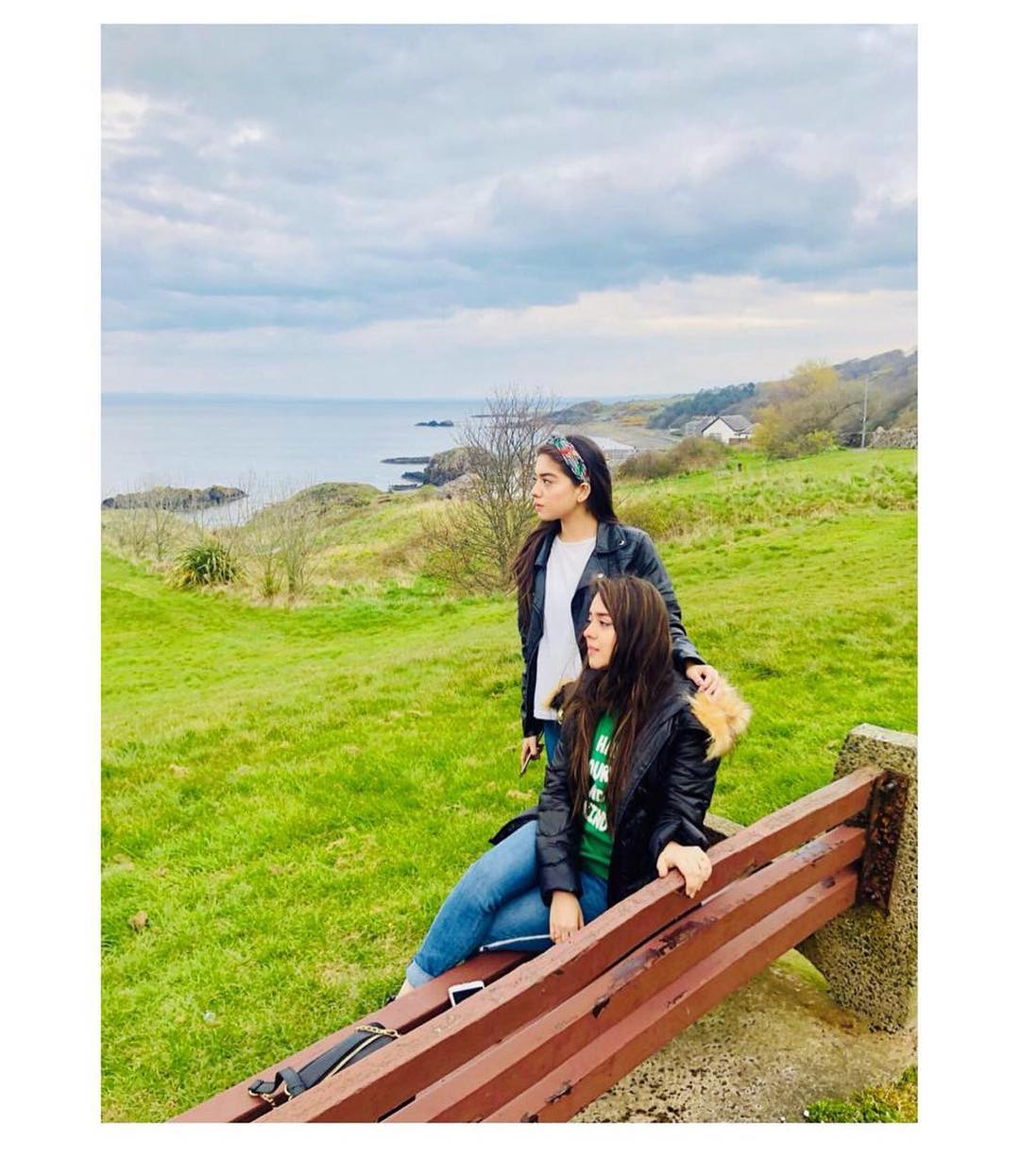 Beautiful Actresses & Sisters Arisha Razi and Sarah Razi in Glasgow UK