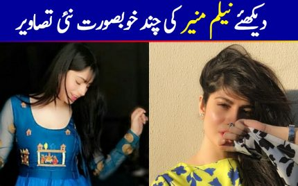 Neelam Muneer's Latest Pictures