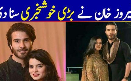 Feroze Khan Confirms The Good News