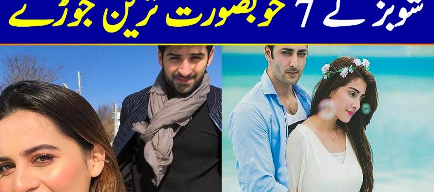 Top 7 Most Beautiful Showbiz Couples of Pakistan