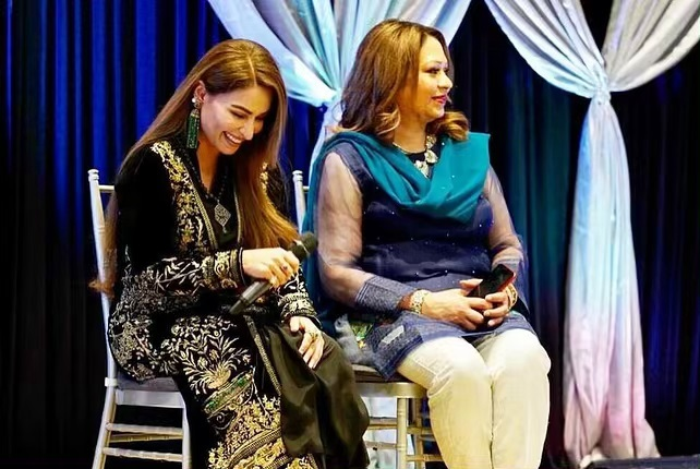 Latest Beautiful Clicks of Actress Reema Khan at an Event in USA
