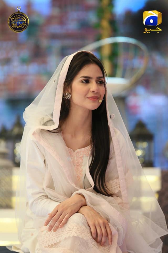 Beautiful Actress Madiha Imam in Ehsaas Ramzan Transmission