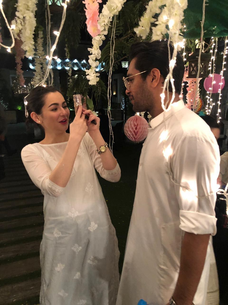 Pakistani Celebrities Spotted at Iftar Party hosted by Harris Qadeer