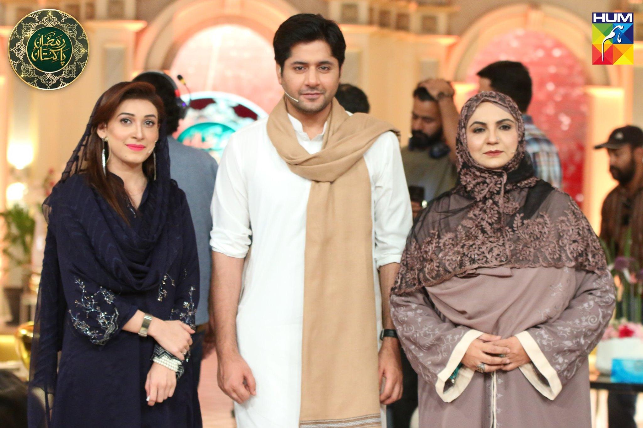Actor Imran Ashraf Appeared in Ramzan Pakistan Transmission
