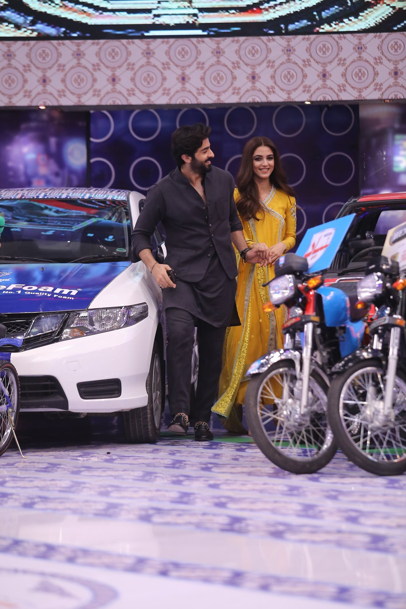 Sheheryar Munawar & Maya Ali Appeared in Jeeto Pakistan