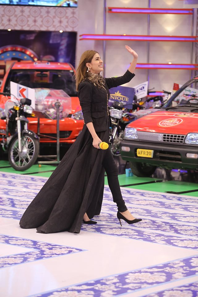 Beautiful Actress Kubra Khan Today in Jeeto Pakistan