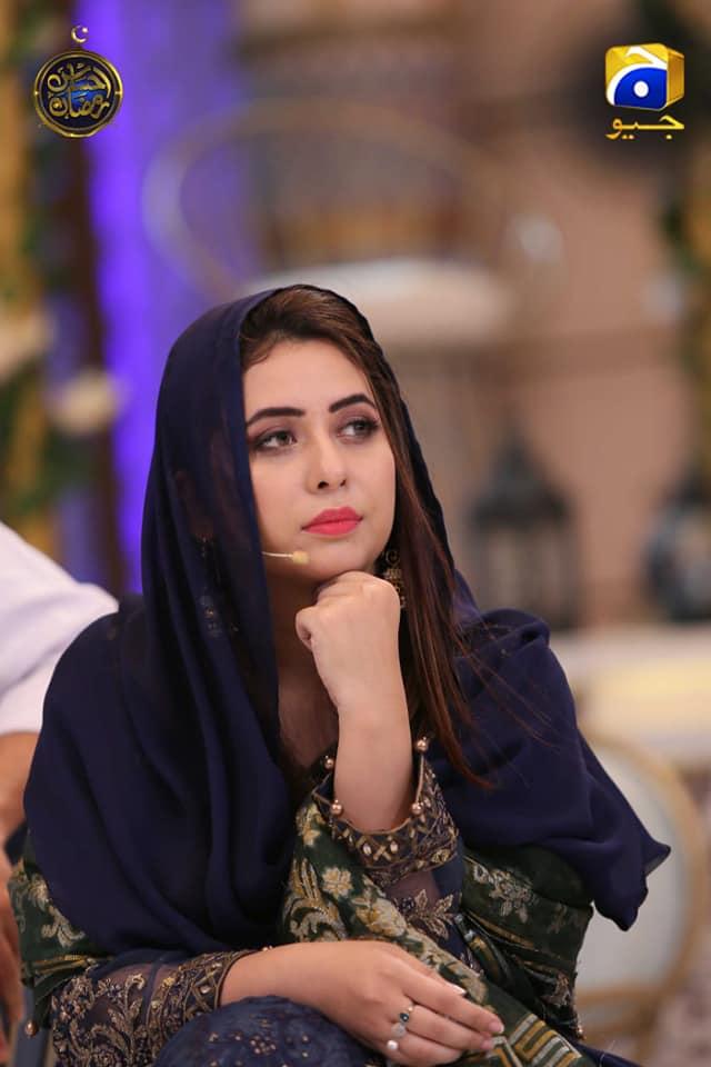 Actress Kubra Khan in Ehsaas Ramzan Geo Transmission