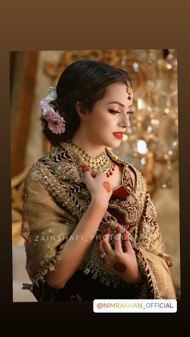 Latest Photoshoot of Beautiful Actress Nimra Khan for Salon