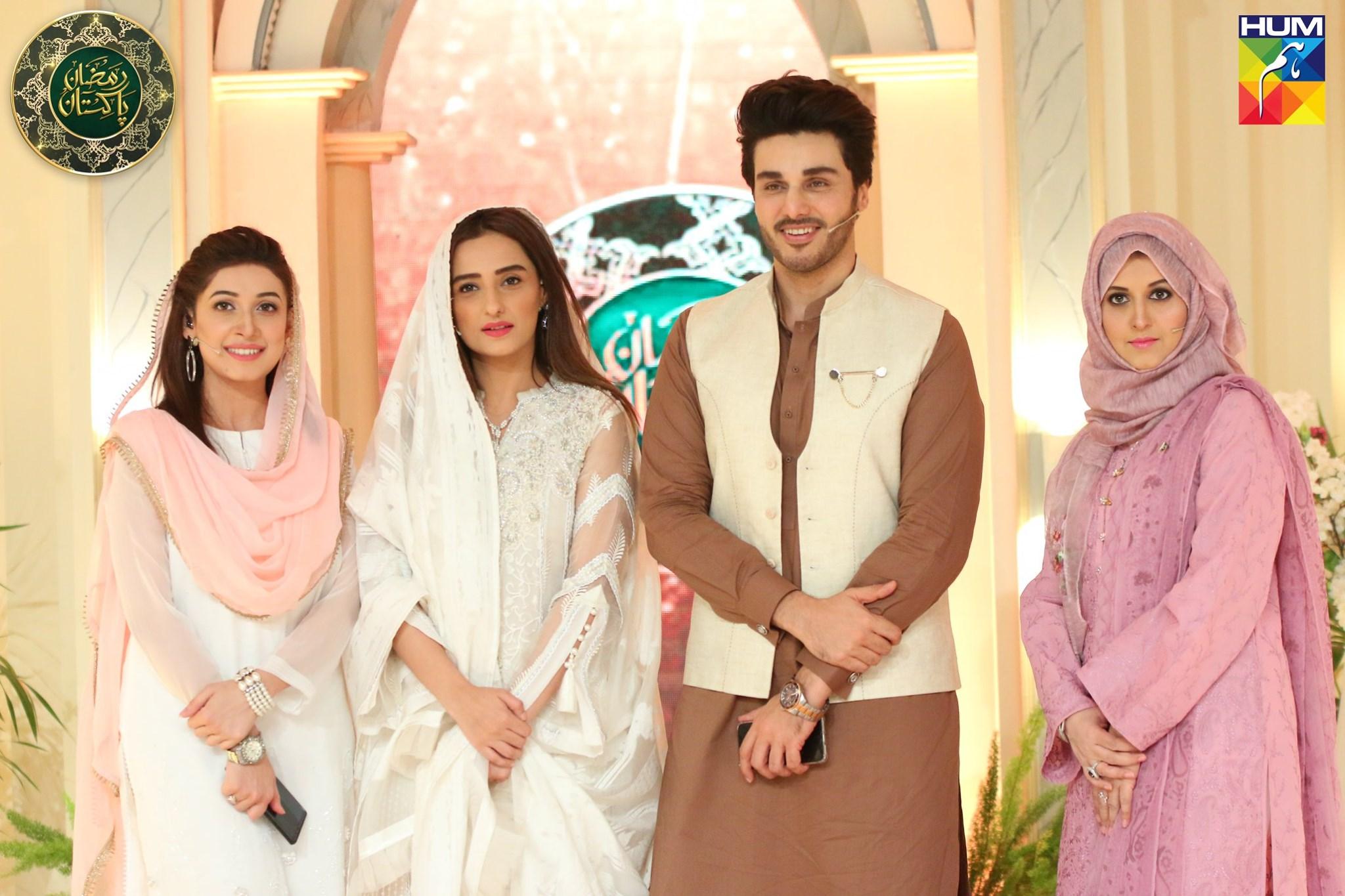 Beautiful Moomal Sheikh Appeared in Ramzan Pakistan Transmission