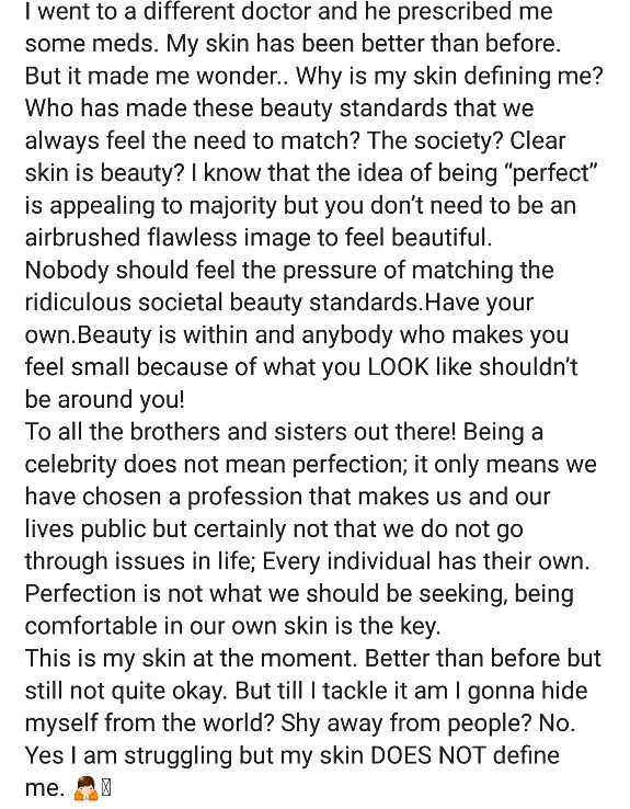 Hania Aamir Talks About Skin Insecurities