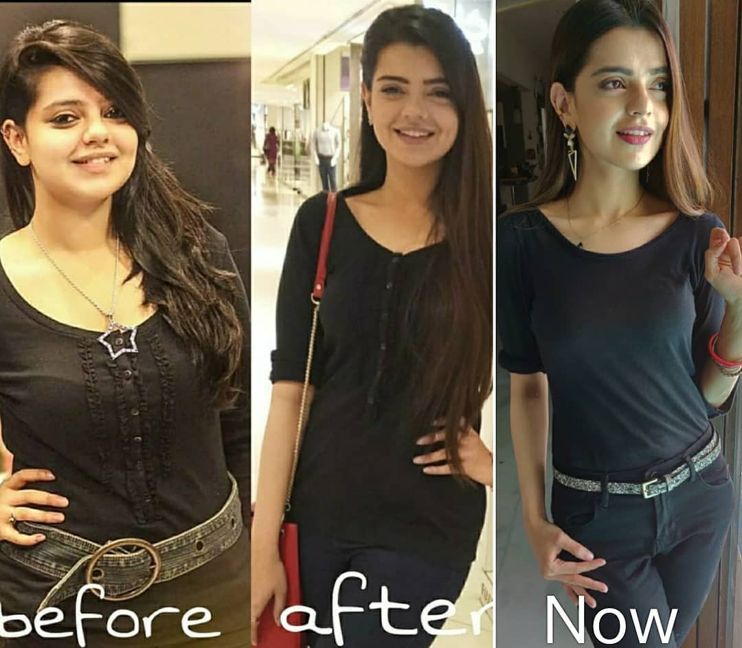 Transformation Pictures of New Talented Star Actress Srha Asghar