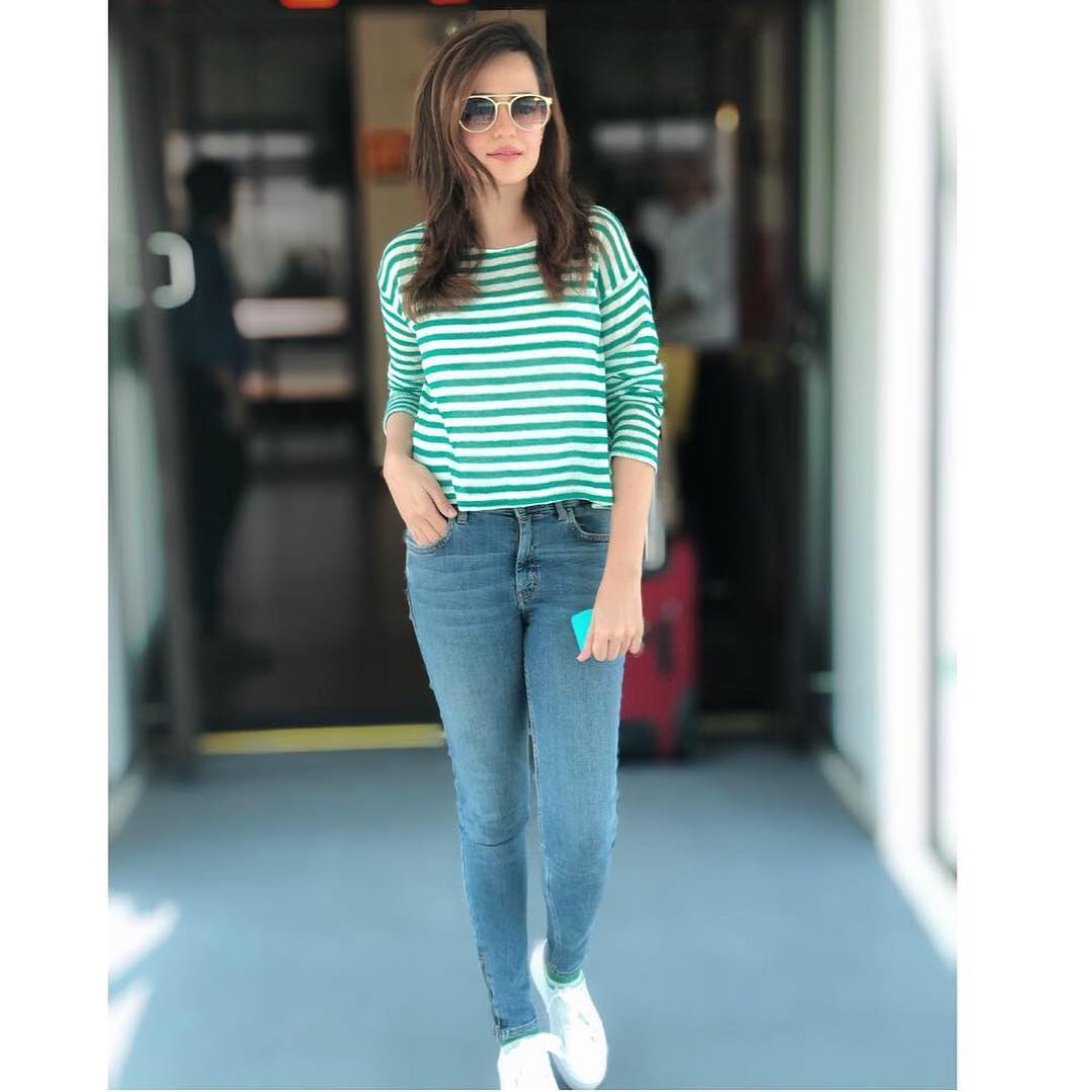 Latest Beautiful Clicks of Gorgeous Actress Sumbul Iqbal