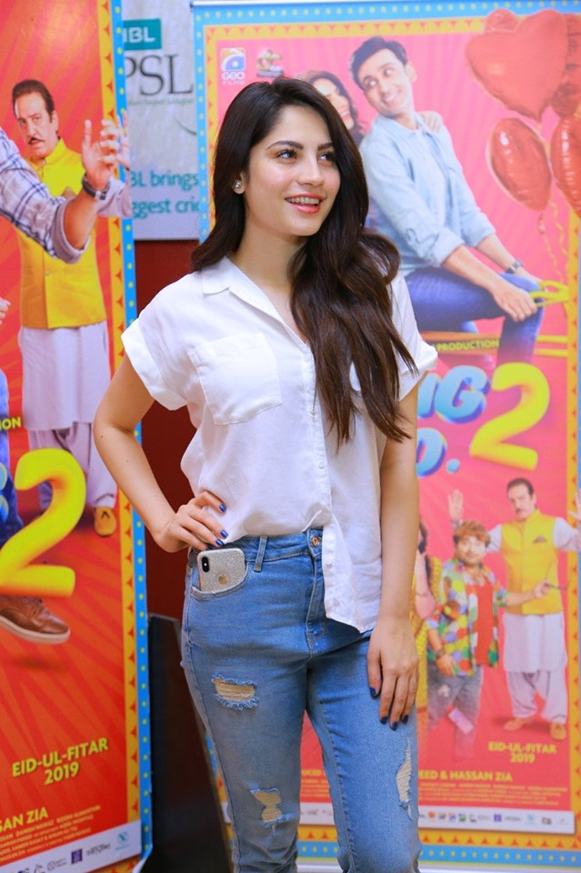 Superstar Cast of Movie Wrong No.2 made an appearance at Nueplex Cinemas Karachi