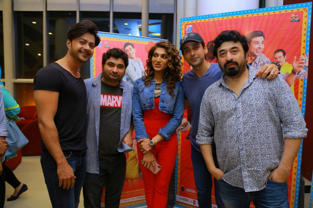 Superstar Cast of Movie Wrong No 2 made an appearance at Nueplex