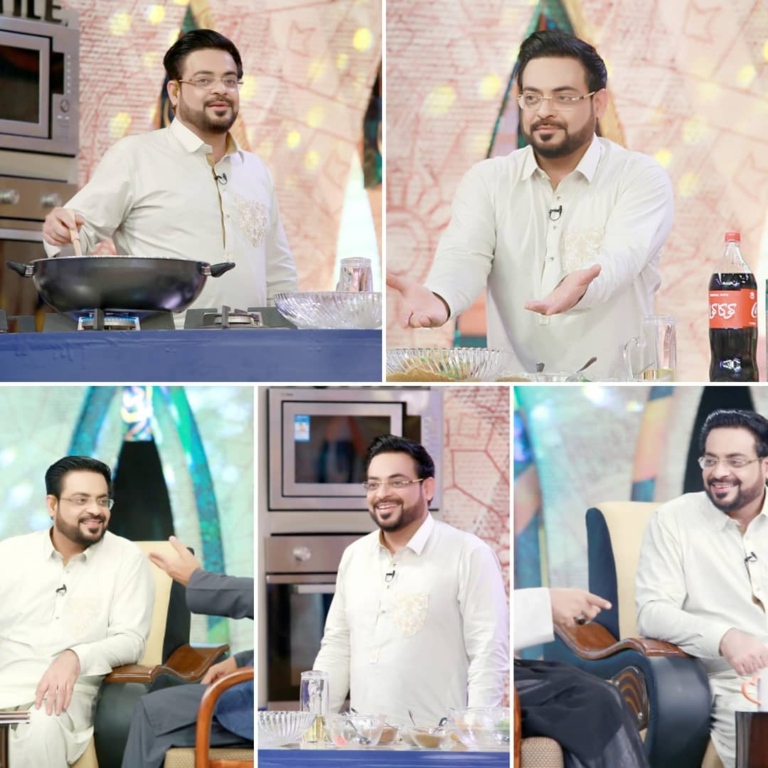 Aamir Liaquat Appeared With Tuba-Not Fired From PTV