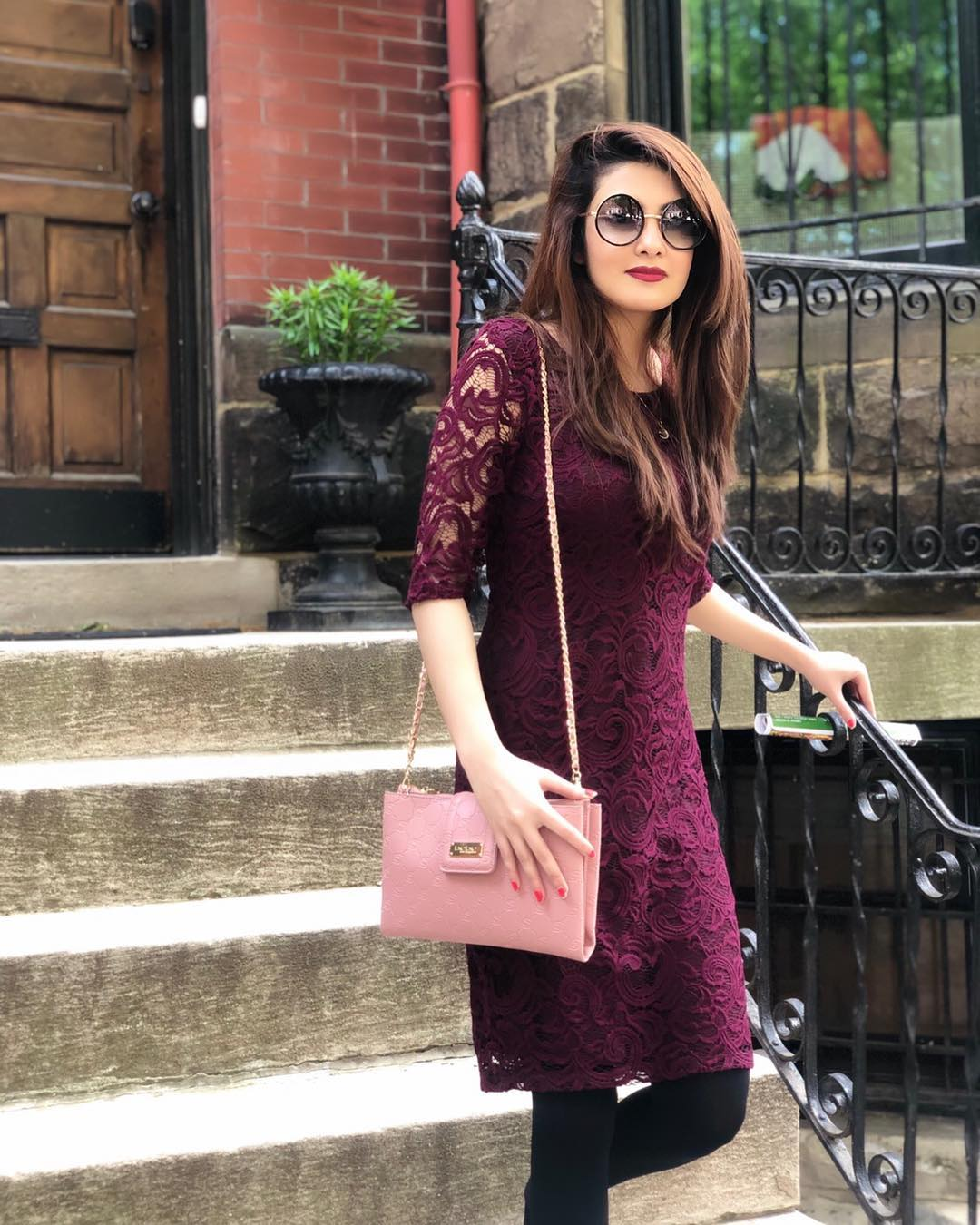 Actress Aleezay Tahir with her Husband Enjoying Vacations in USA