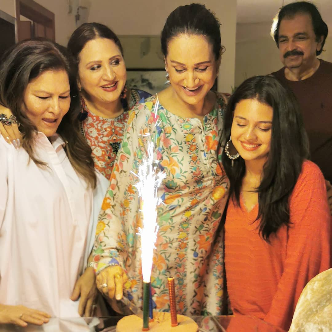 Image result for bushra ansari with family