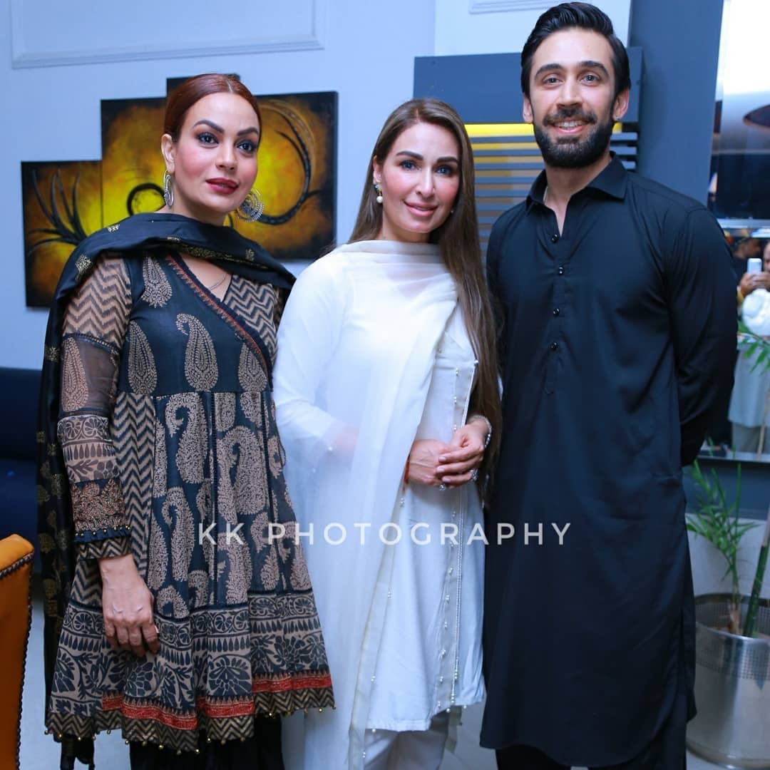 Pakistani Celebrities at Recent Event of Ramazan Transmission