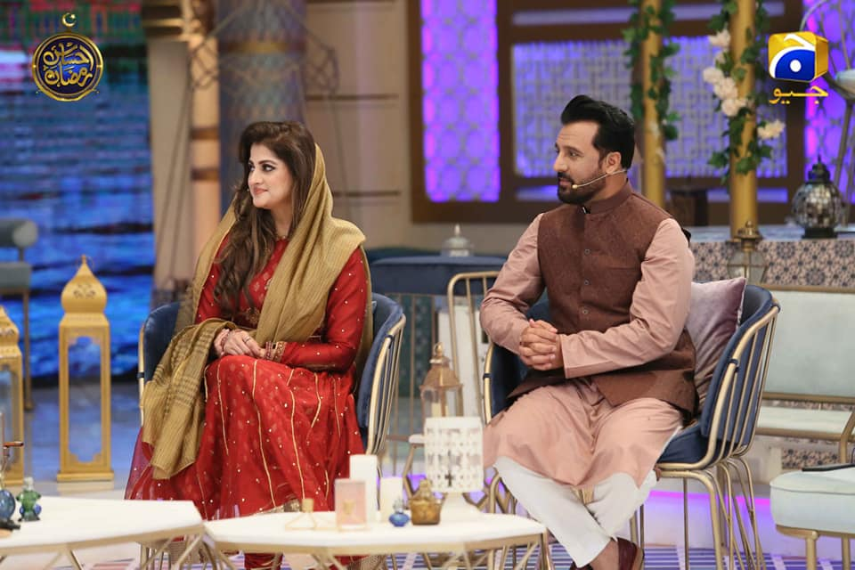 Actors Rambo & Sahiba Appeared in Ehsaas Ramzan Today