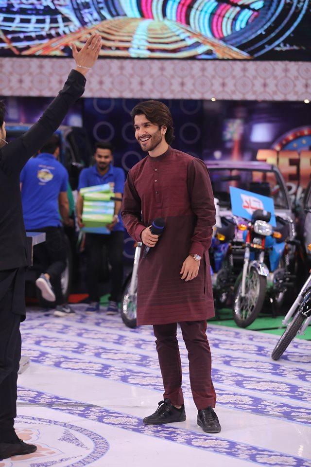 Talented Actor Feroze Khan Today in Jeeto Pakistan