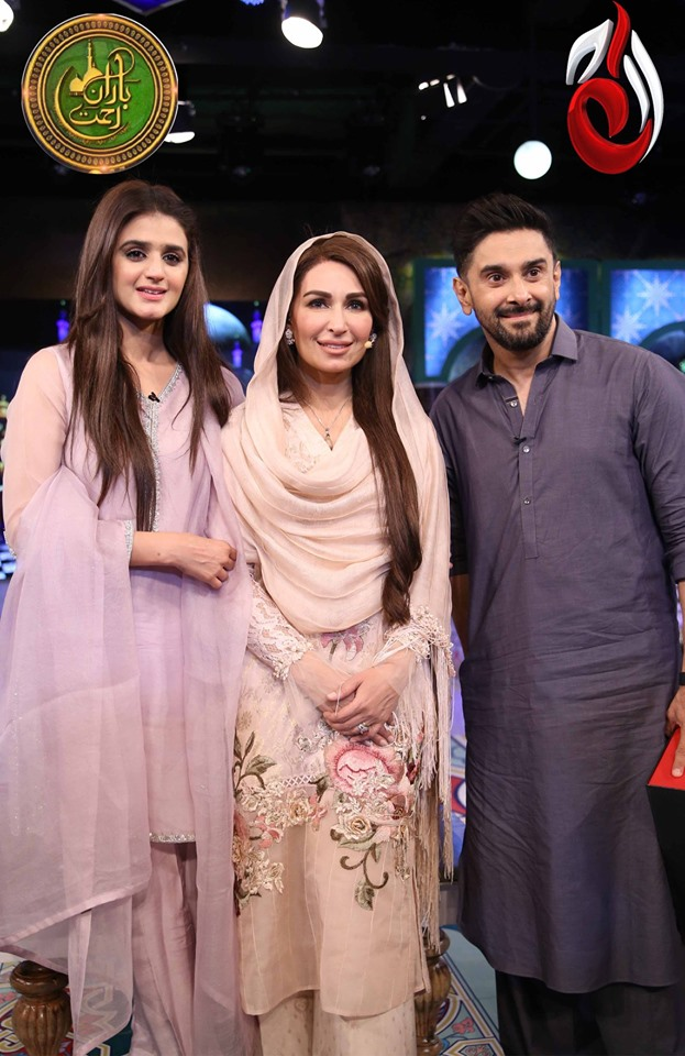 Beautiful Actors Hira and Mani in Reema Khan's Ramazan