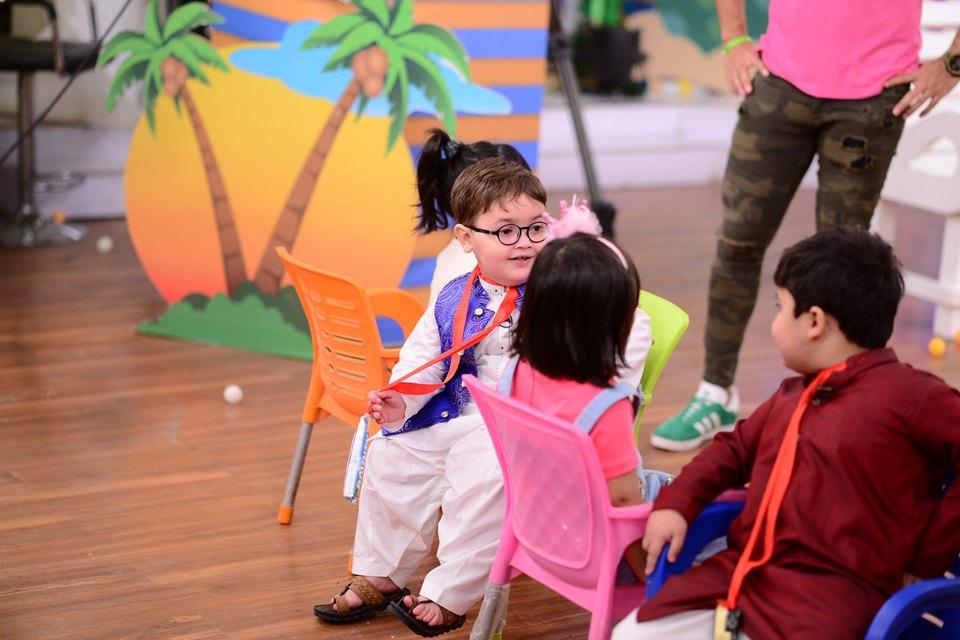 Famous Sweet Kid Ahmed Shah in Nida Yasir Morning Show