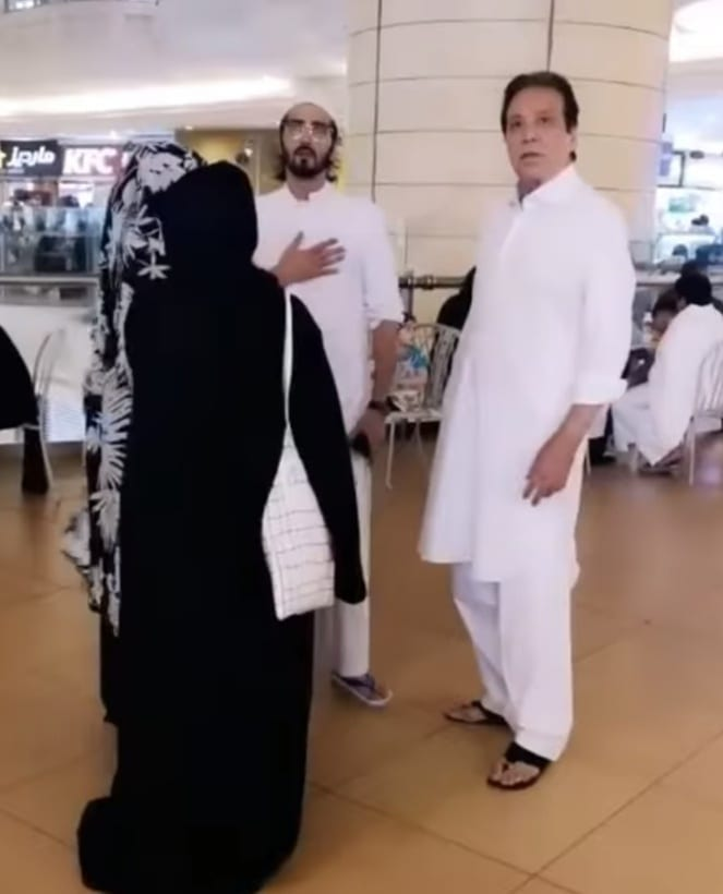 Actors Shehzad Sheikh and Momal Sheikh Performed Umrah with Parents