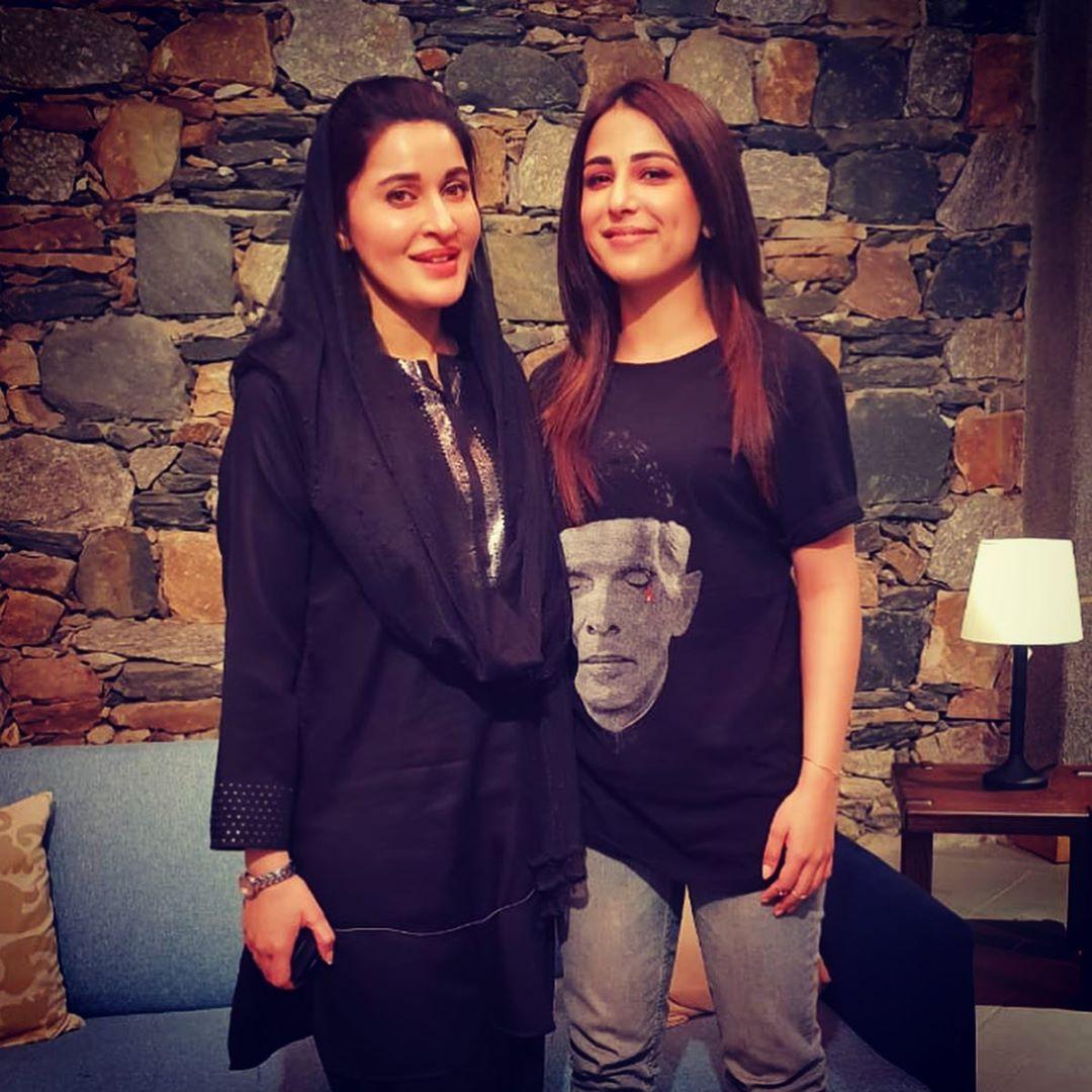 Latest Clicks of Beautiful Ushna Shah