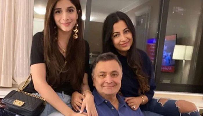 Mawra Hocane Meets Rishi Kapoor