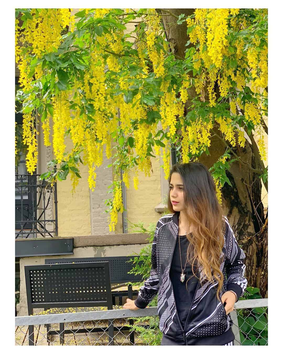Latest Clicks of Beautiful Singer Aima Baig in Paris