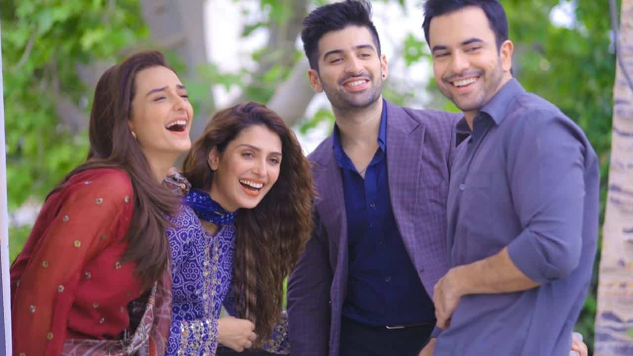 Beautiful Pictures from the set of Drama Serial Yaariyan