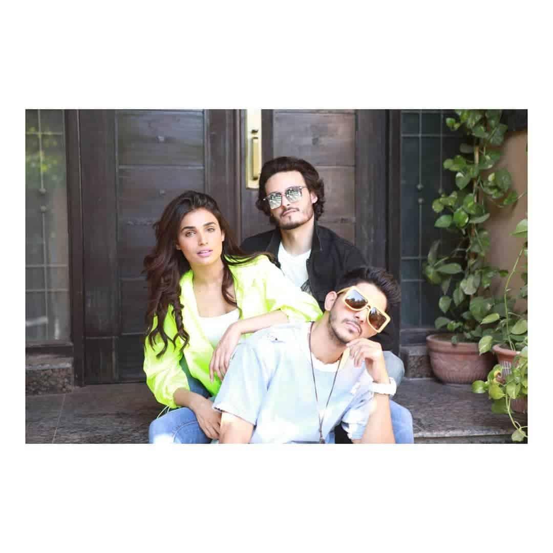 Cast of Movie Baaji Photo Shoot
