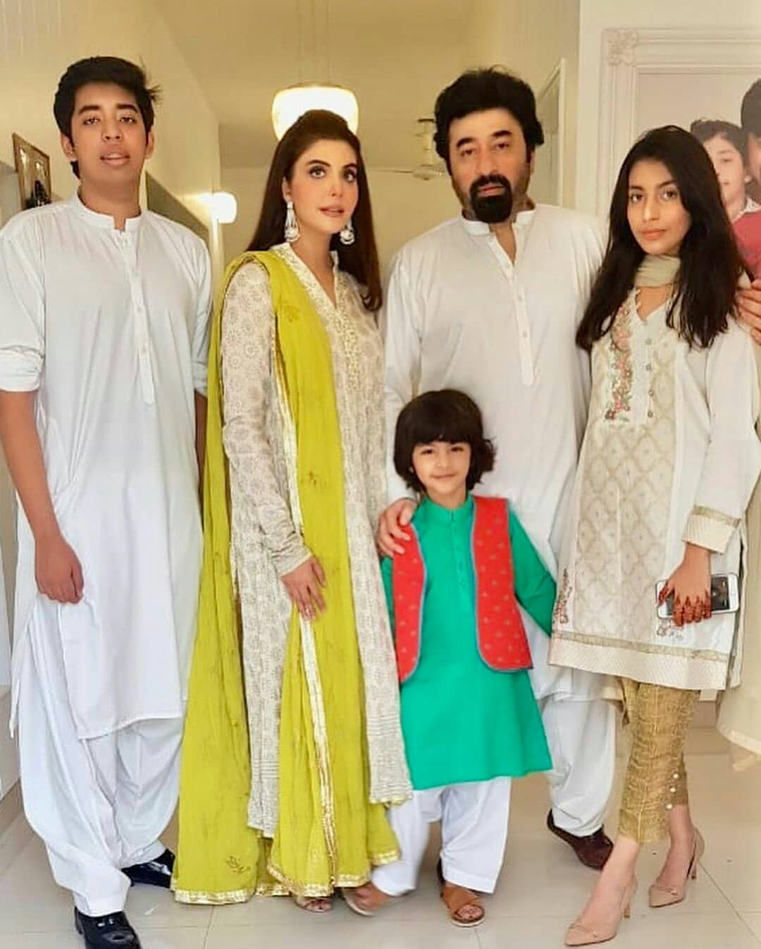 Beautiful Pakistani Celebrities First Day Eid Pictures – Part-3